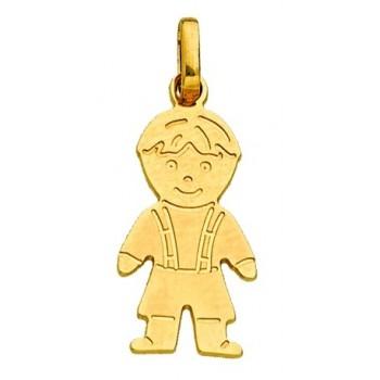 Le pendentif Garçon en Or