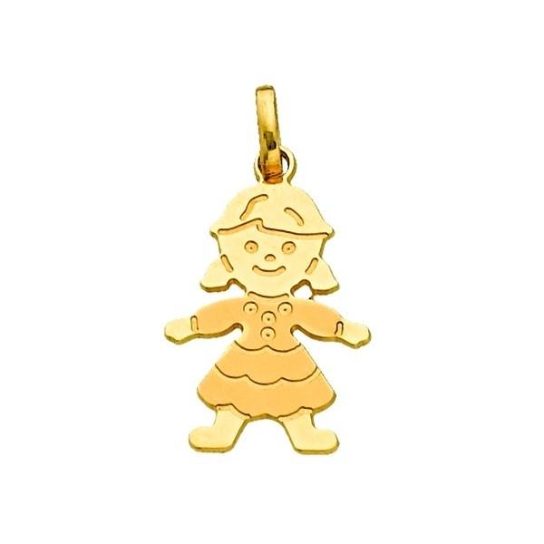 Le pendentif Fillette en Or