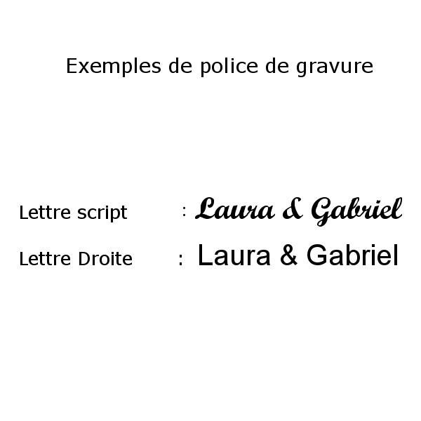"""Bracelet gravé """"Mes Petits Chéris""""argent lettre script"""