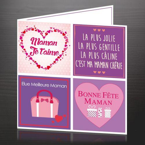 """Carte """"Fête des Mamans"""""""