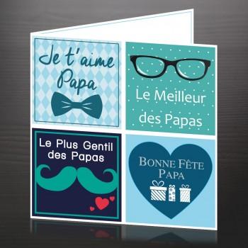 """Carte """"Fête des Papas"""""""