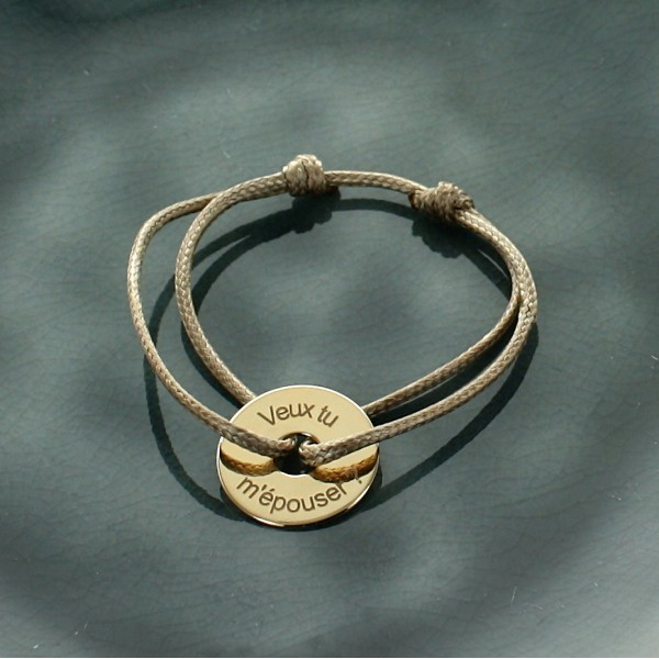 Bracelet Cible en Or 18 carat