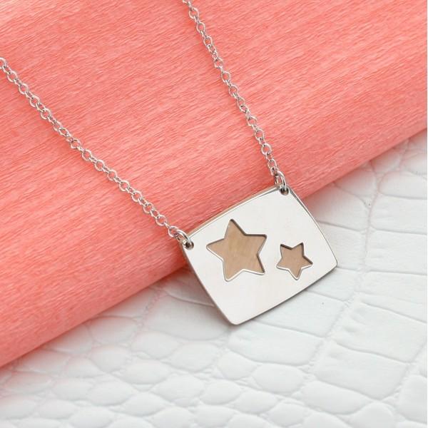 """Le collier personnalisé """"Ma belle étoile"""""""