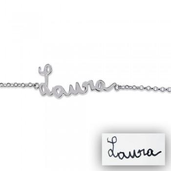 """Bracelet """"Mon ecriture"""" personnalisé"""