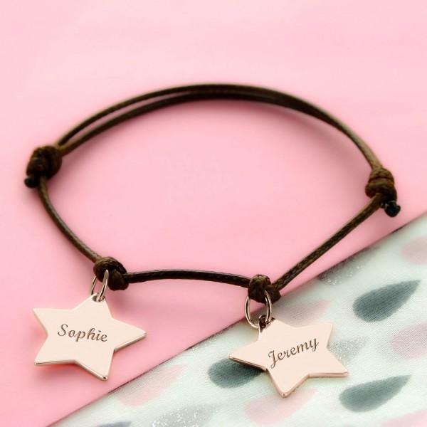 """Bracelet personnalisé """"ma petite etoile"""""""