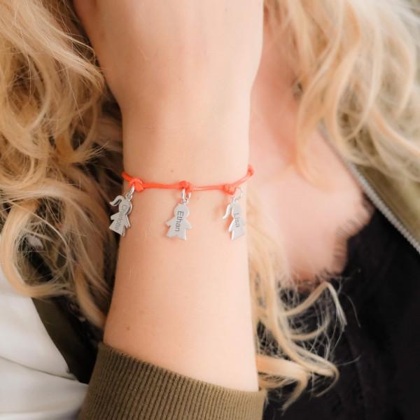 """Bracelet personnalise """"Mes Choupinous"""""""