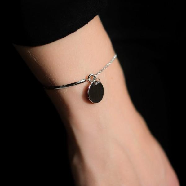 Bracelet Demi Jonc à graver