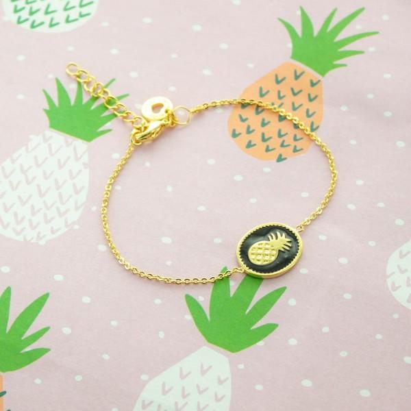 Bracelet Ananas à personnaliser