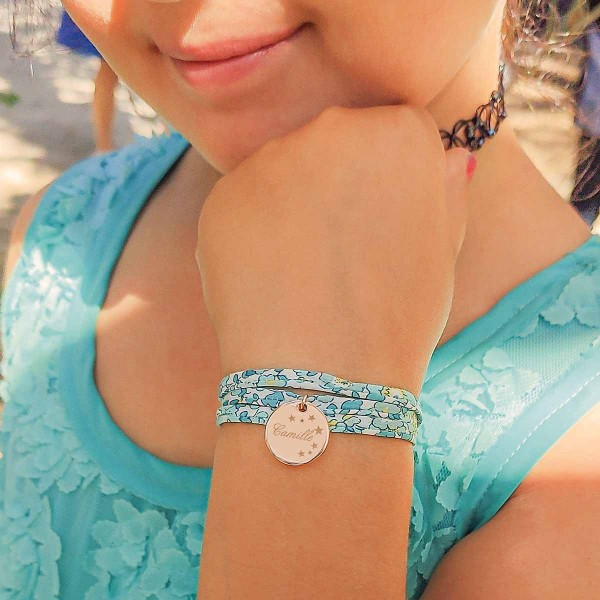 Bracelet Liberty Céleste à personnaliser