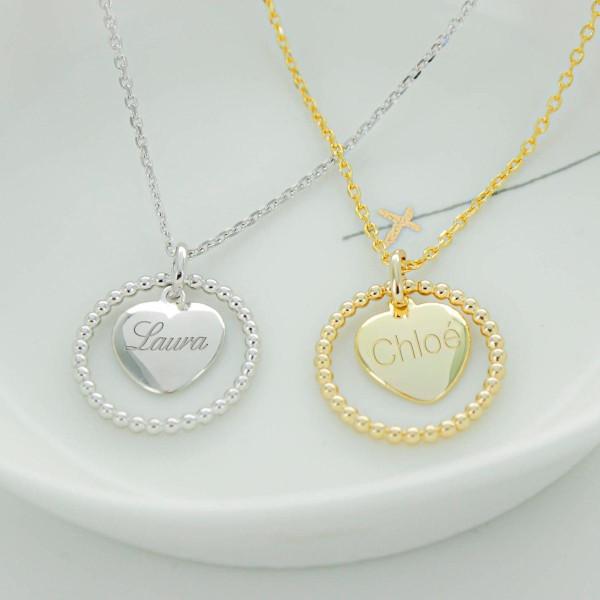 Collier Perle d'Amour à personnaliser