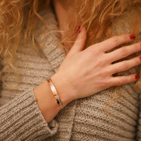 Grand Bracelet Jonc à personnaliser