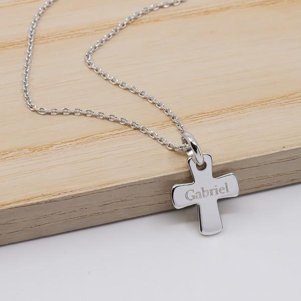 Collier Croix à personnaliser