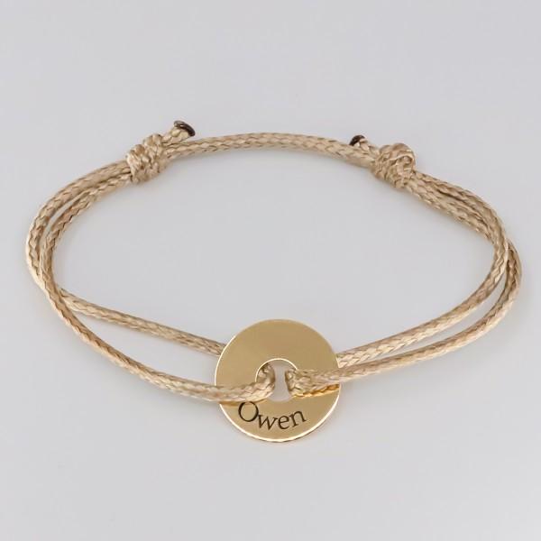 Bracelet Petit Jeton en Or 18 carat